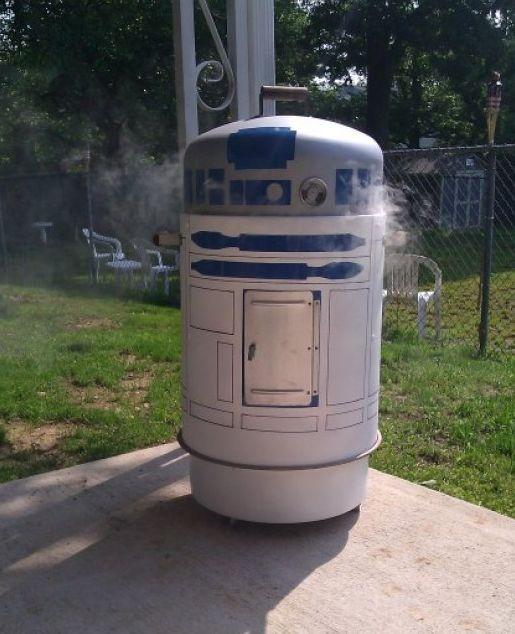 R2-D2 Smoker Grill