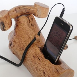 iPhone / iPod - phone headset and dock all in one