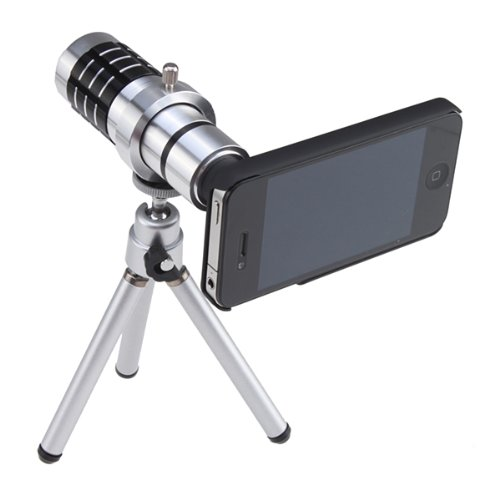 Focus Telescope Camera Lens Kit For iPhone 4s