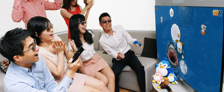 LG launches 3D Games Smart TVs