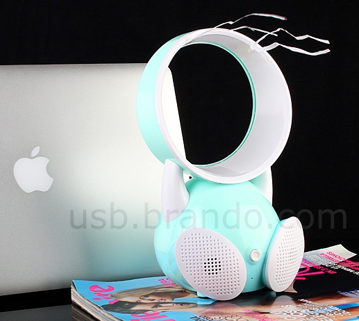 USB Happy Kid Fan with Speaker