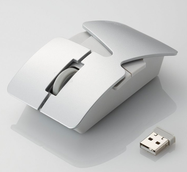 KASANE 5-button wireless optical laser mouse