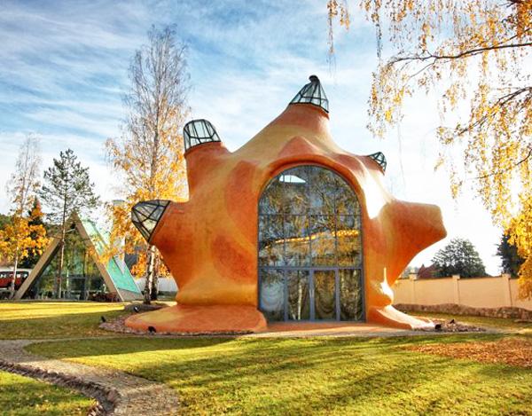 Russian Seashell House