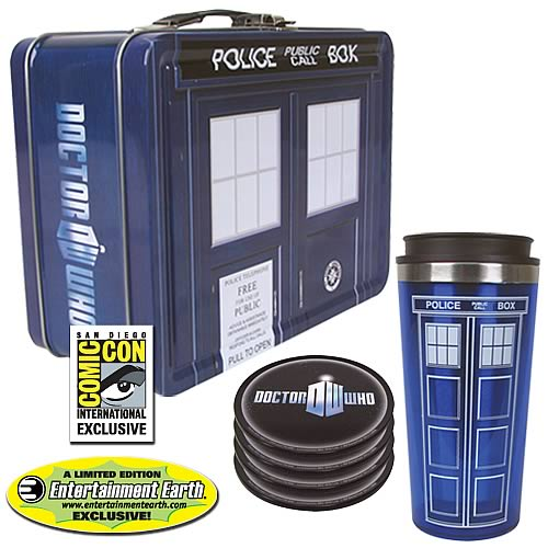 Doctor Who TARDIS Tin Tote Gift Set