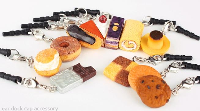 Charm  Sweets Earphone Jack Accessory
