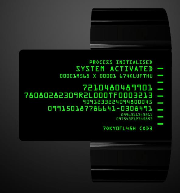 Code TFT watch