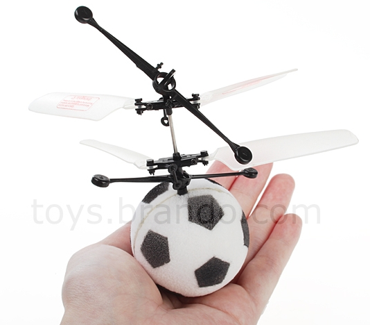 Rechargeable RC 1.75-inch Soccer Helicopter