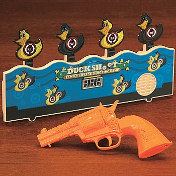 Classic Carnival Duck Shoot Family Arcade Shooting Game