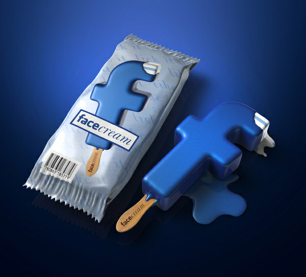 Facebook Ice Cream