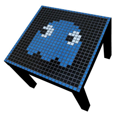 Pacman Coffee Table