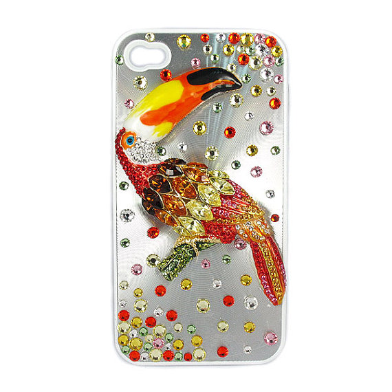 Swarovski Elements Crystal IPhone 4 4S Case Cover