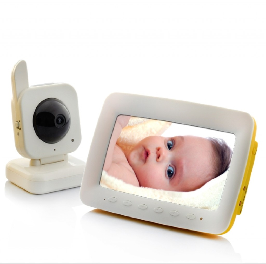 wireless nightvision baby monitor gadgets matrix. Black Bedroom Furniture Sets. Home Design Ideas