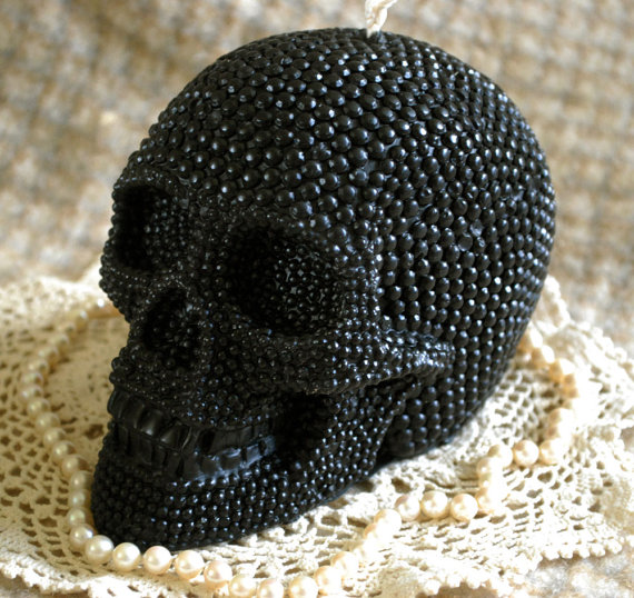 Candle BIG Skull Shaped Candle