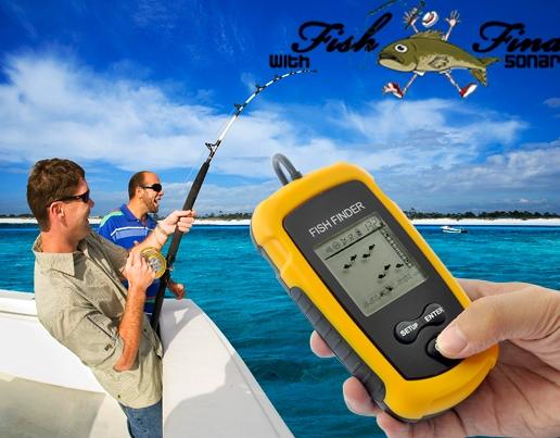 Fish Locator with Sonar Sensor