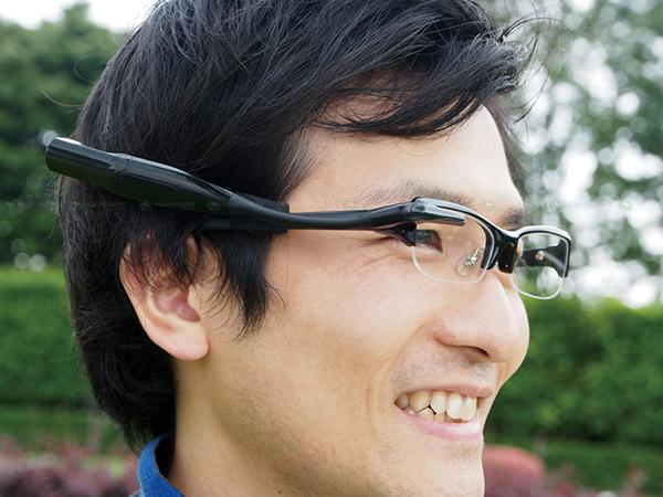 prototype of the wearable display