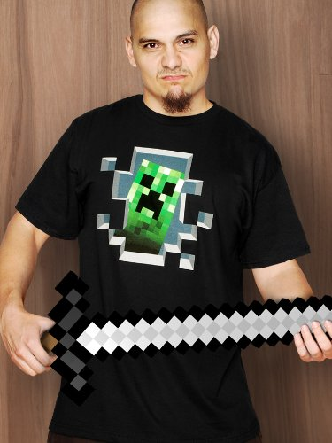 Minecraft Creeper Inside T-Shirt