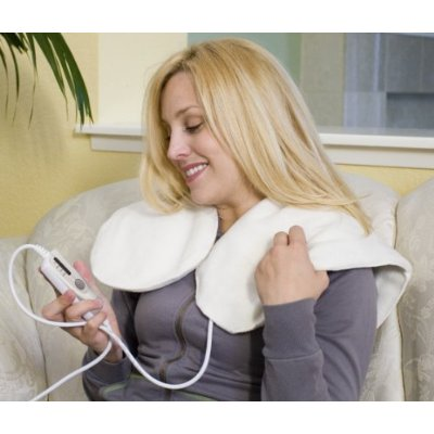 Heating Pad – 24″ x 23″, 4 – Heat Settings, Dry / Moist Heat