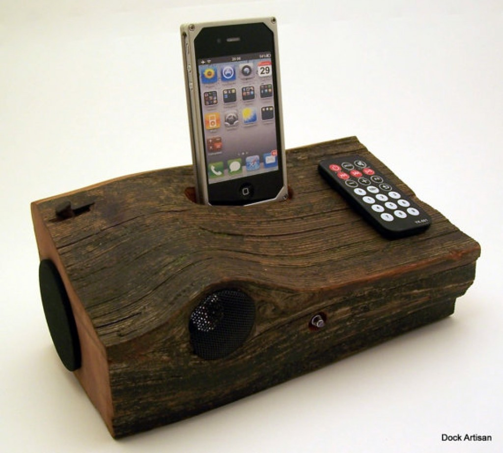 redwood iphone speaker docking station gadgets matrix. Black Bedroom Furniture Sets. Home Design Ideas