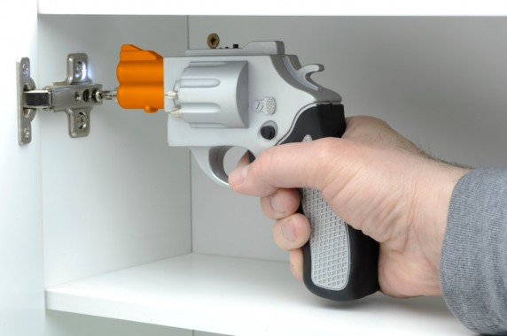 Gun Shaped Drill