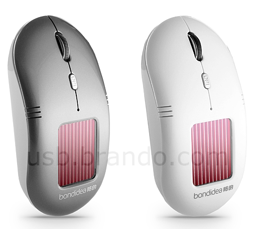 Solar Wireless Optical Mouse