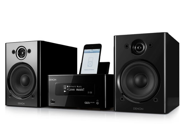 Denon DRA-N5 & RCD-N8 CD players with iPhone & iPod dock