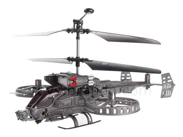 USB Rechargeable IRC Tri-ROTOR GunShip GYRO 4-Channel 8-inch Helicopter
