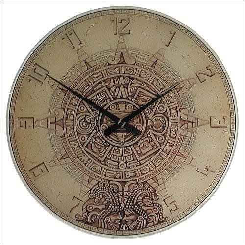 Mayan Temple Wall Clock