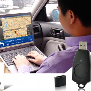 USB GPS Receiver for Laptops