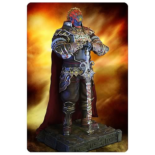 Legend of Zelda Twilight Princess Ganondorf 1:4 Scale Statue