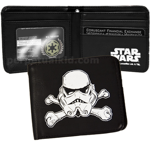 STAR WARS TROOPER CROSSBONES WALLET