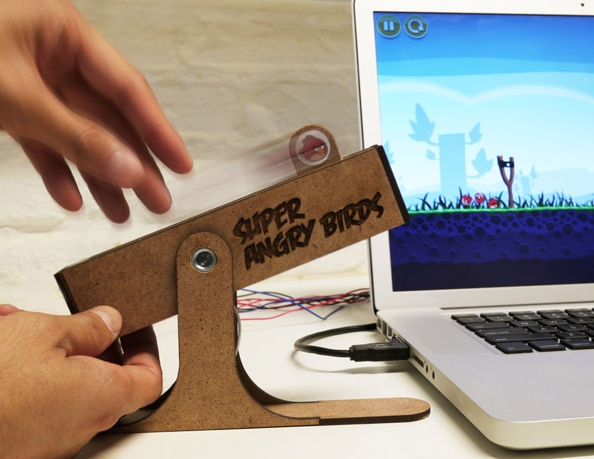 angry birds slingshot controller