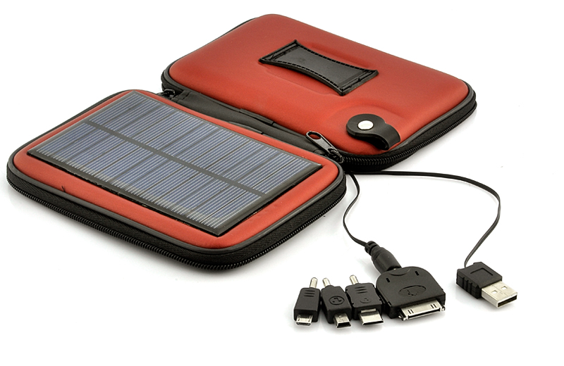 Solar Battery Charger Case