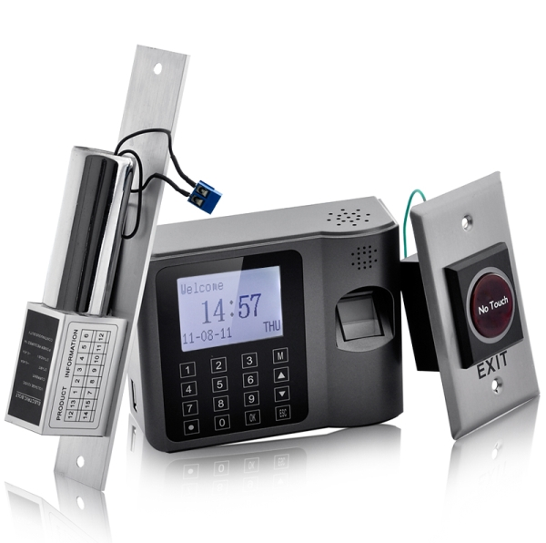 Complete Biometric Time Attendance and Access Control System