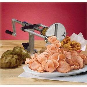 Ribbon Cut Fry Potato Cutter