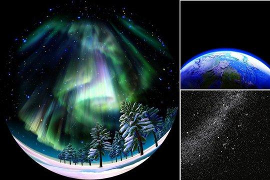 Homestar Earth Theatre Home Planetarium