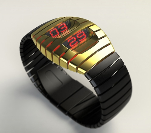 Mugen-Kido LED watch