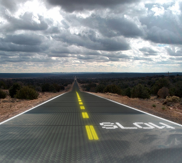 Solar powered roadways
