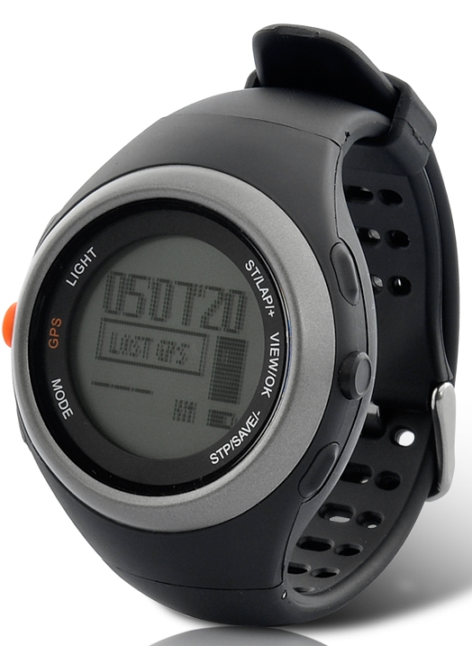 Waterproof Multi-sport GPS Watch with Heart rate monitor