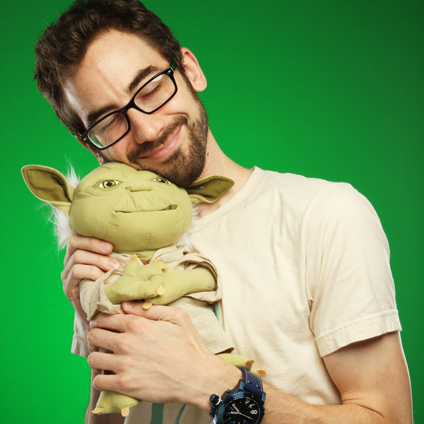 Talking Yoda Plush with Moving Mouth