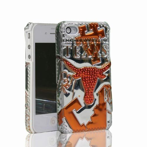 NCAA Texas Longhorns 3D Luxe Cover for iPhone 4/4S