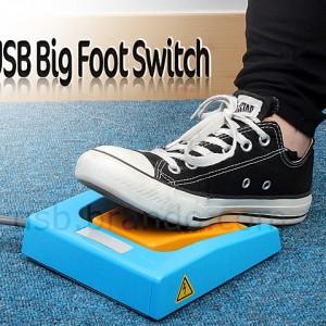 USB Big Foot Switch