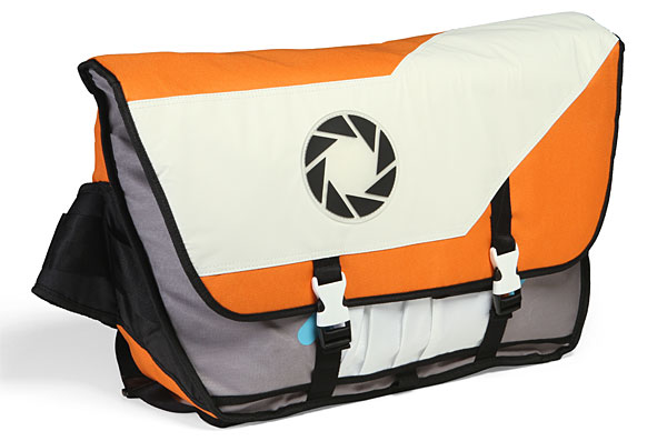 Portal 2 Aperture Laboratories Messenger Bag