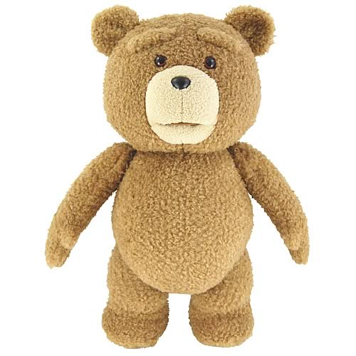 Ted 8-Inch Talking Plush Teddy Bear