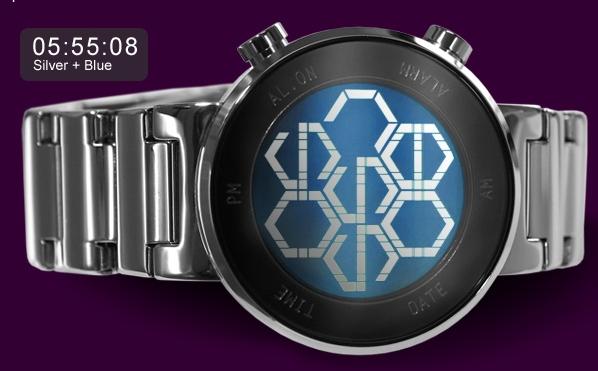 Kisai Zone LCD Watch
