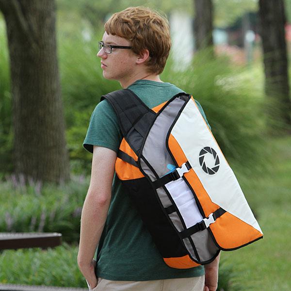 Portal 2 Aperture Laboratories Messenger Bag