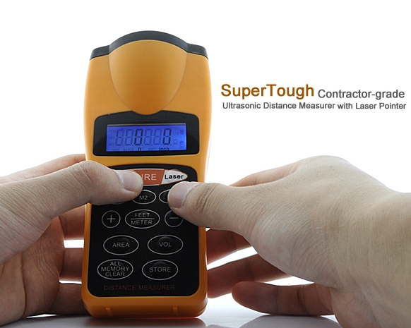 "Ultrasonic Distance Measurer ""SuperTough"""