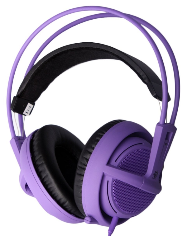 Purple Siberia V2 Full-Size Gaming Headset