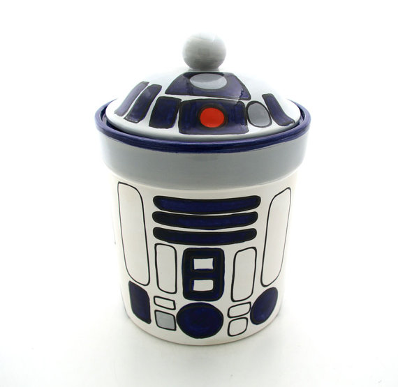 Funny Cookie Jar for Sci Fi Fan
