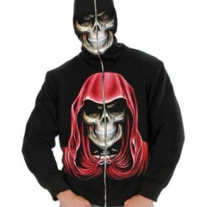 Adult Men's Empire Reaper Black Hoodie Sweatshirt