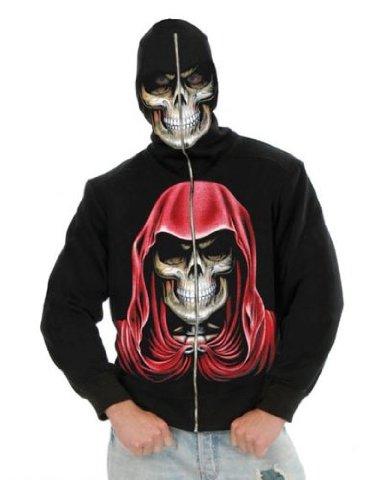 Adult Men's Empire Reaper Black Hoodie Sweatshirt